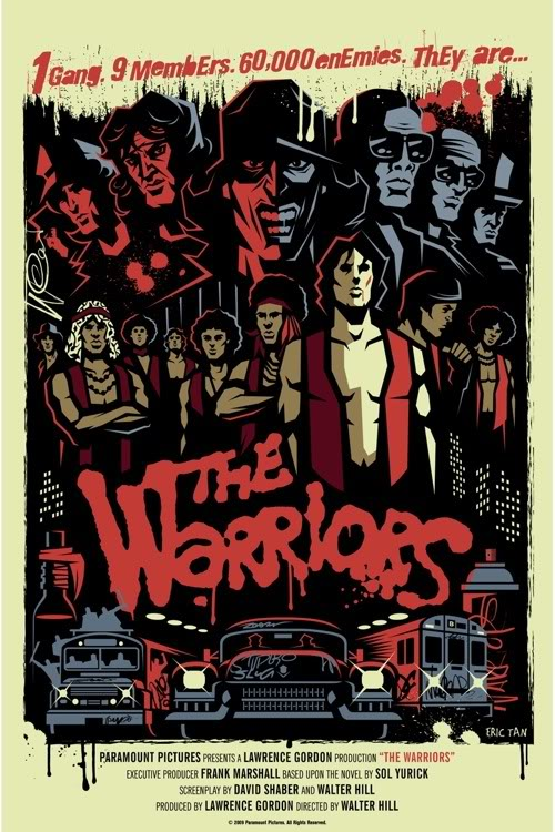 The Warriors  1979 The Warriors Movie Poster