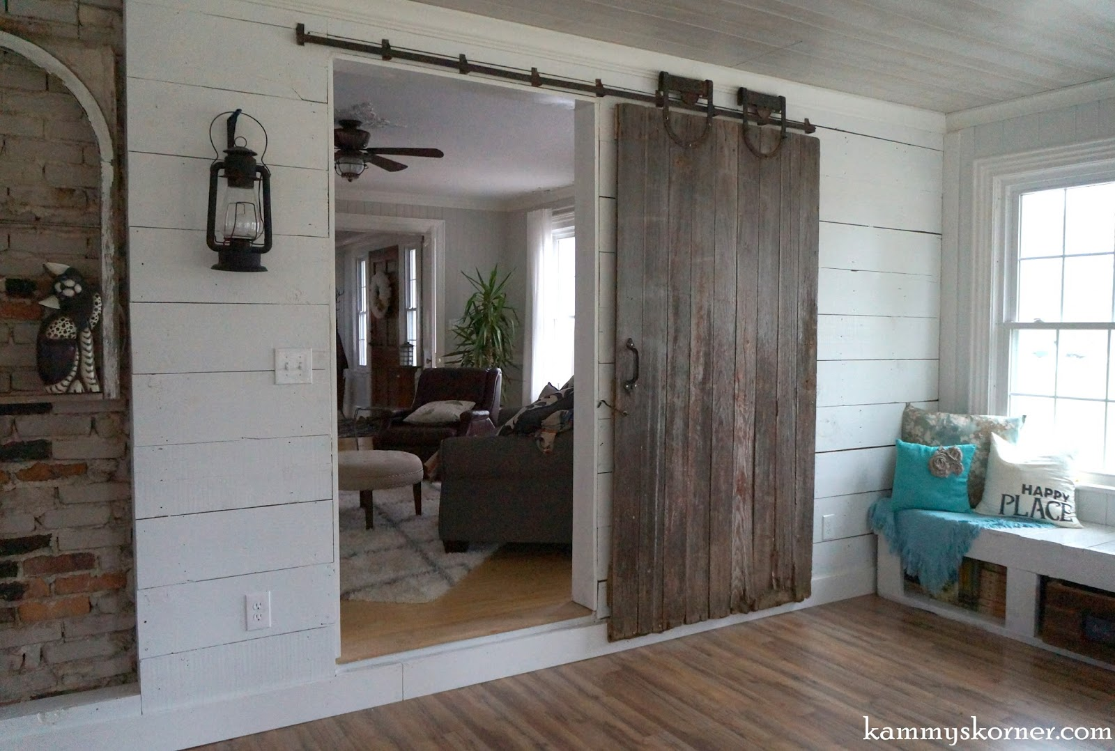Close up of this super cool old hardware! & Kammy\u0027s Korner: Rescued Barn Door From a Forsaken Iowa Farm Pezcame.Com