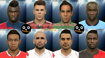 PES 2015 International FacePack vol. 4 by Znovik_S