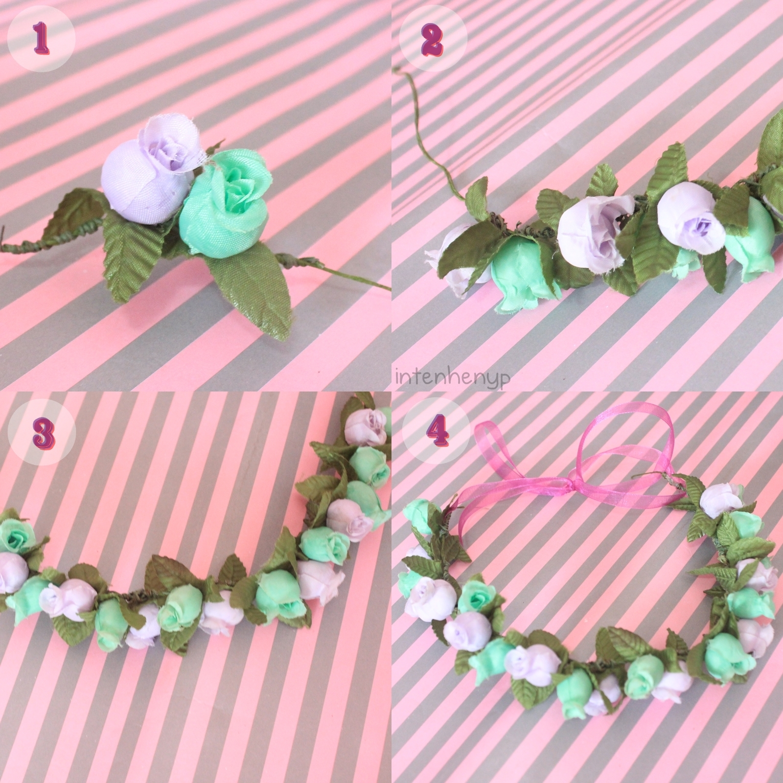 How to Make Your Own Flower Crown You Make Your Own Flower