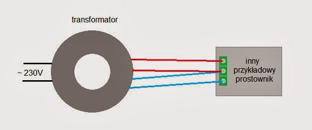 transformator toroidalny schemat podłączenia