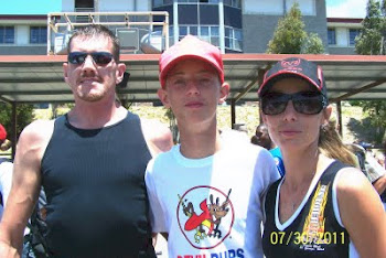 Chris Nebeker and family