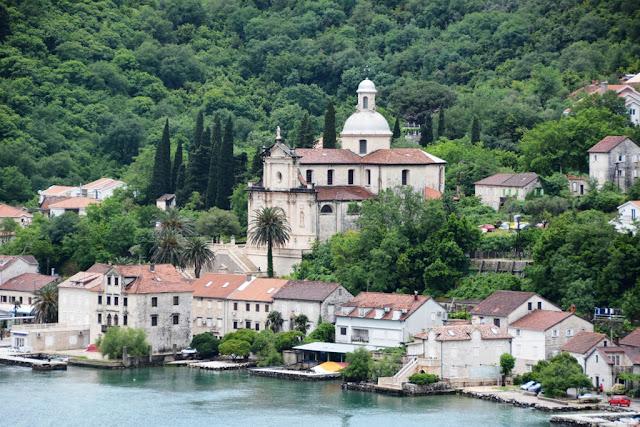 Cruising into Kotor Montenegro