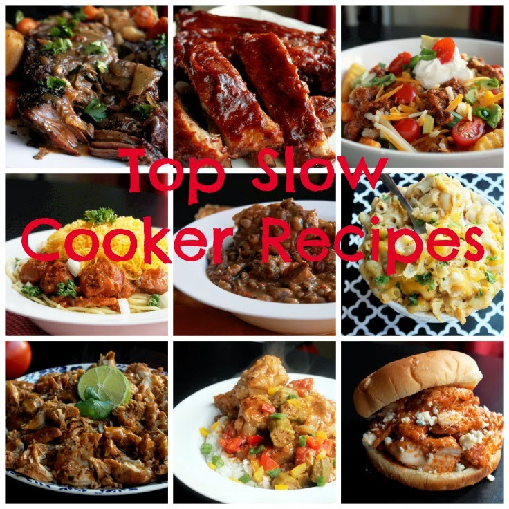 best of slow cooker recipes with a cuisinart slow cooker giveaway!