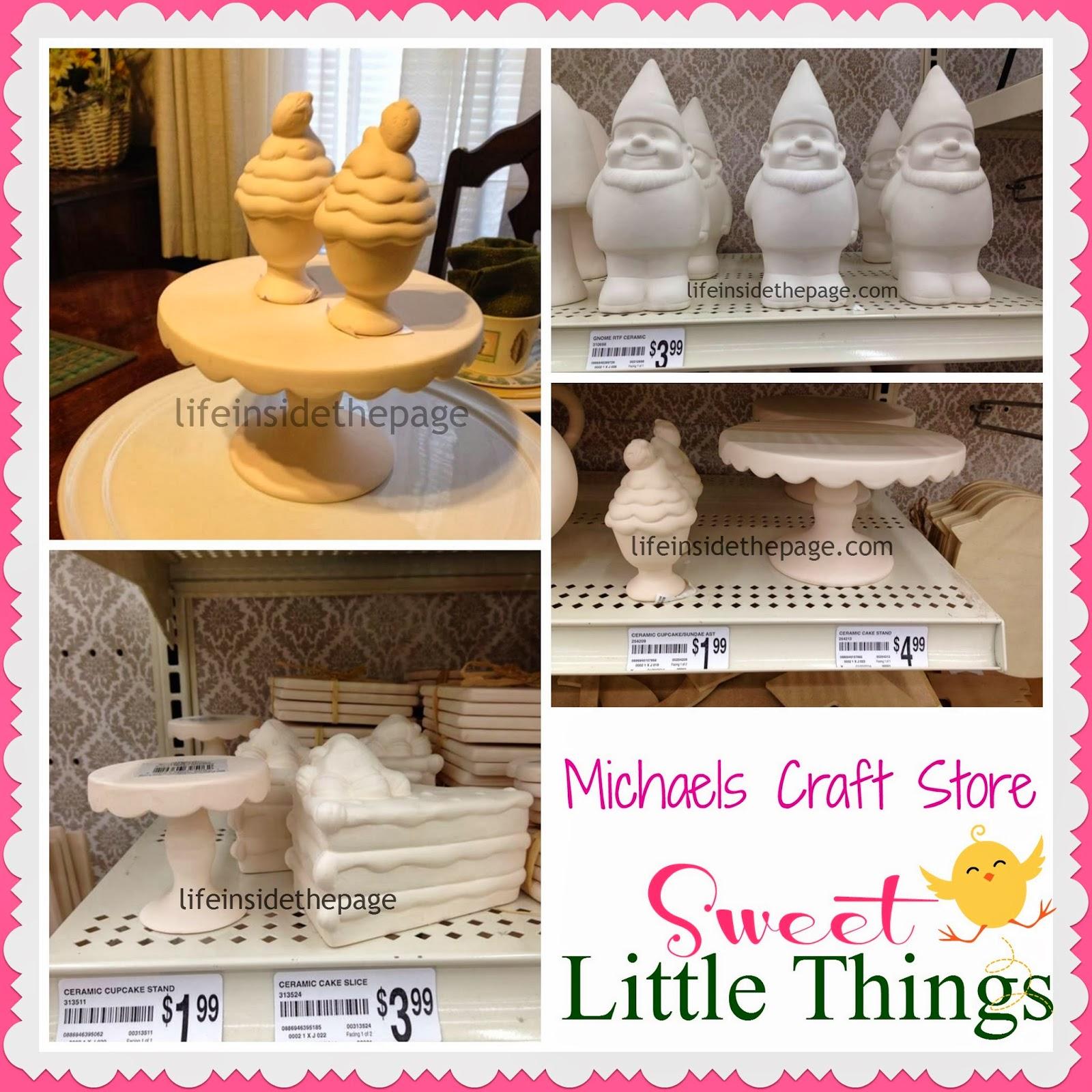 Michaels Craft Store | Sweet Shop | Ceramics