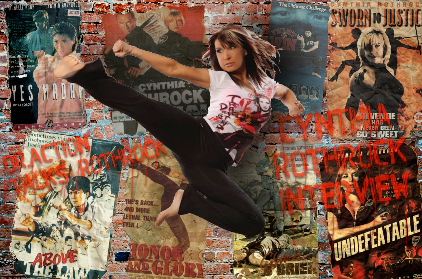 Cynthia Rothrock Undefeatable Episode 114 Cynthia Rothrock