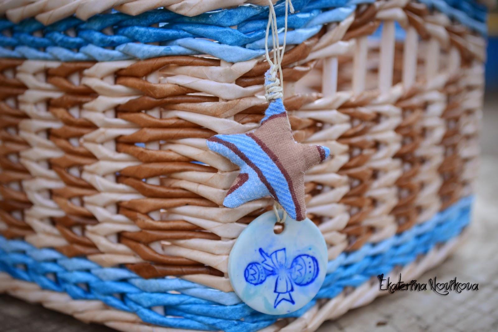 Плетите из бумажной лозы