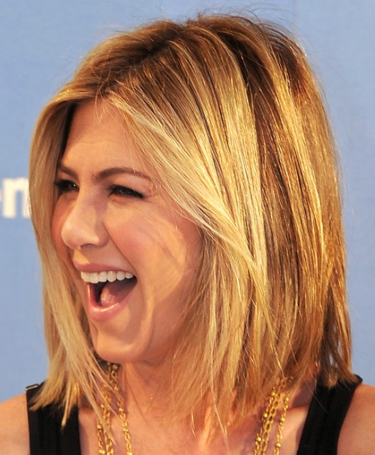 Jennifer Aniston Medium Hairstyles | Inhaircuts