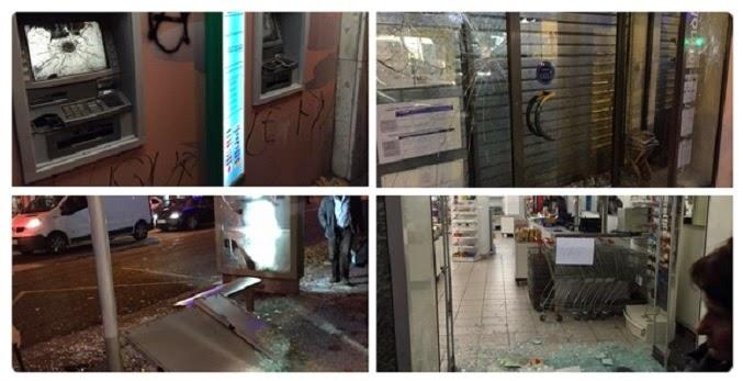 VIDEOS/Manifestation anti-FN à Lyon-Guérilla de rues : 11 policiers blessés  dans France congr%C3%A8s%2Bfn%2Blyon%2Bantifas
