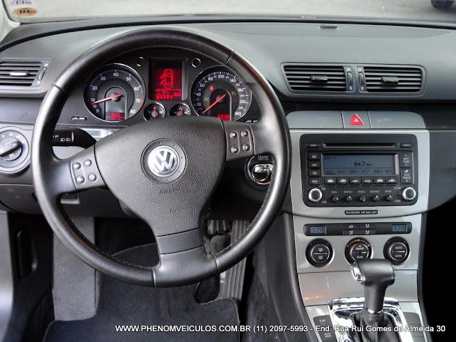 VW Passat 2.0 FSI 2006 - painel