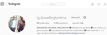 INSTAGRAM WELLINGTON LIMA