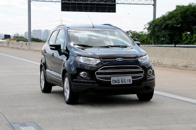 Black coloured Ford Eco sport do you want to see it in reality.
