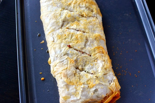 Austrian Vegetable Strudel