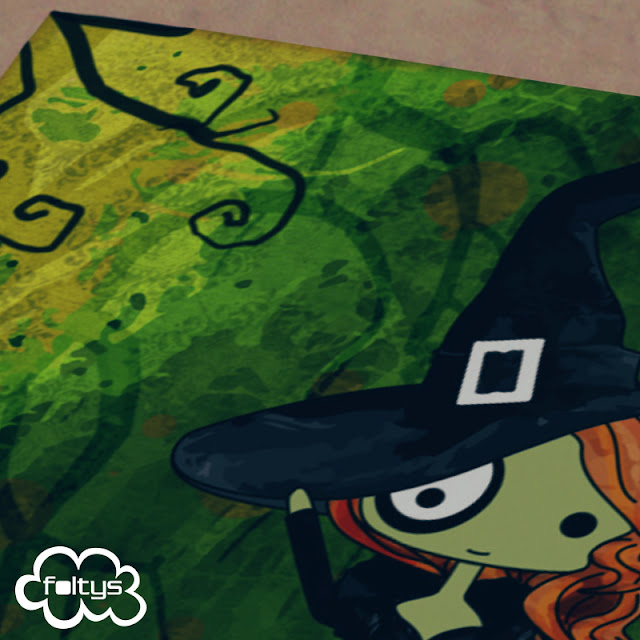 ilustración original | original illustration vs the witch green with envy Elphaba, the wicked witch of the west