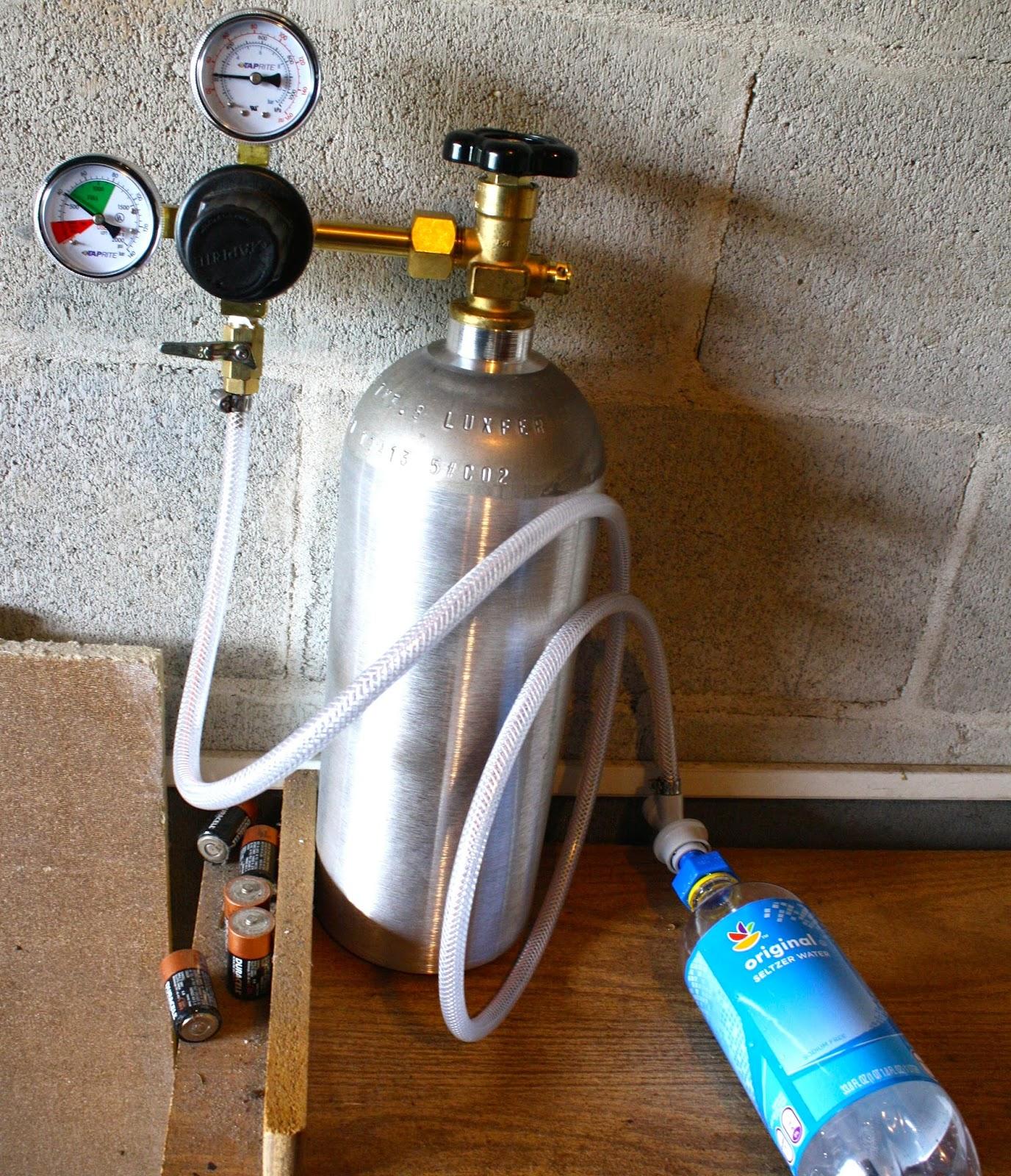 make seltzer water machine