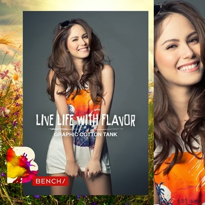 Jessy Mendiola for Bench Summer 2014
