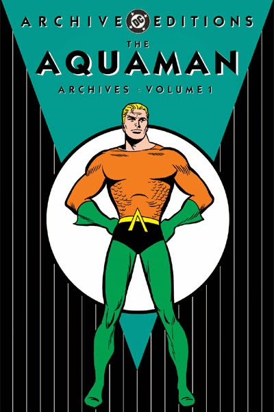Aquaman comic cover