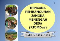 RPJMDes Cilayung 2013-2018