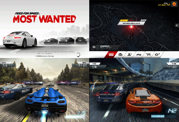 Need for speed nfs most wanted android game highly for Nfs most wanted android