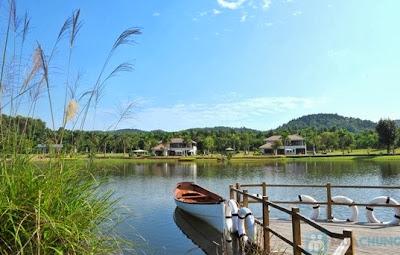 Cho thuê xe 16 chỗ đi hồ Đại Lải - Vĩnh Phúc