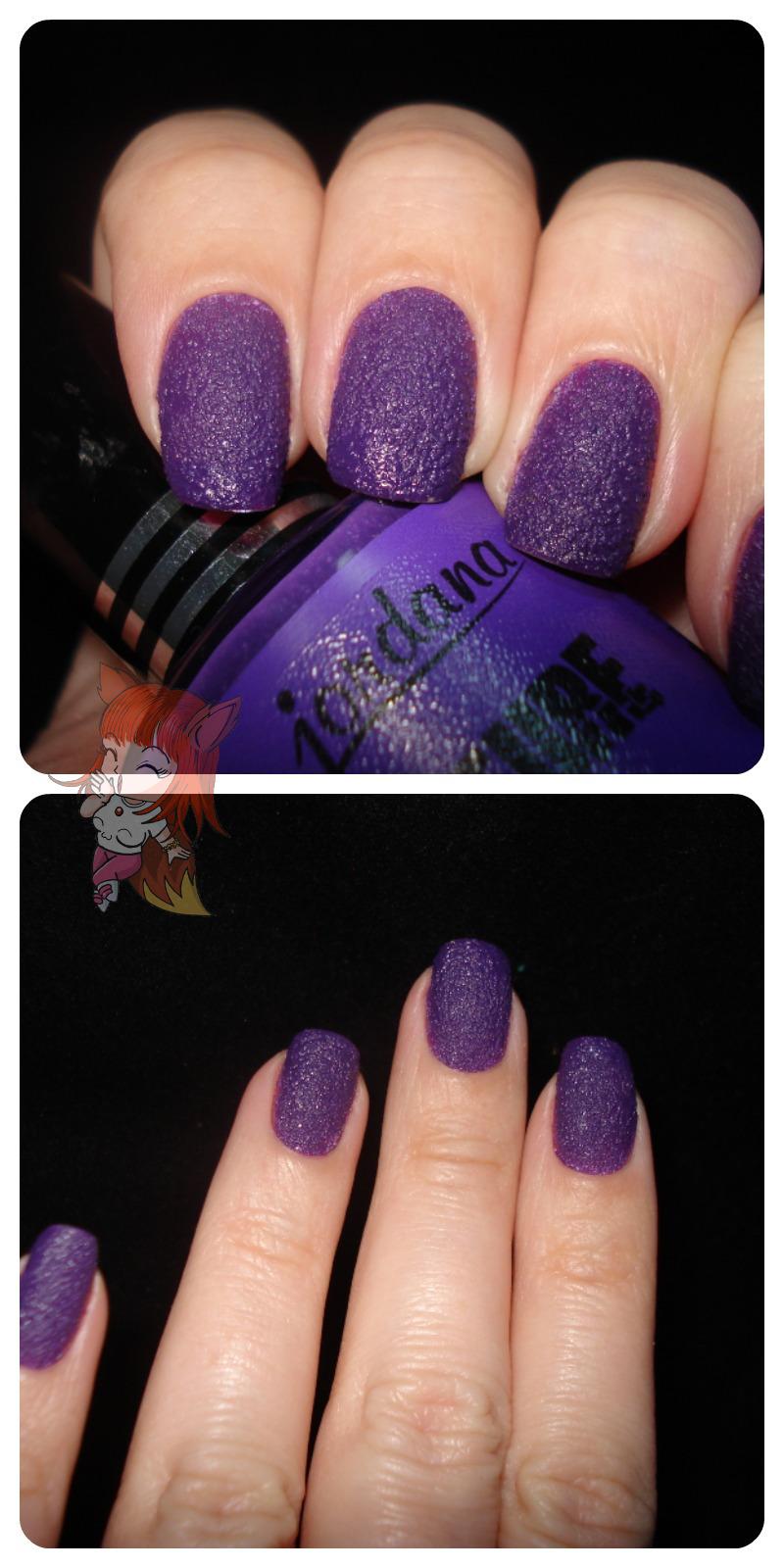 Esmalte Jordana Texture :: Raging Purple - Resenha