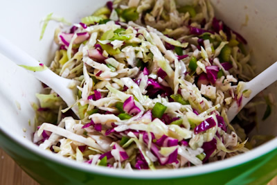 Red Rock Brewery Style No-Mayo Vinegar Coleslaw with Oregano found on ...