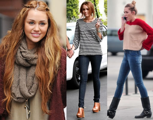 Celebrity Healthy Fitness Tips and Weight Loss: Miley ...