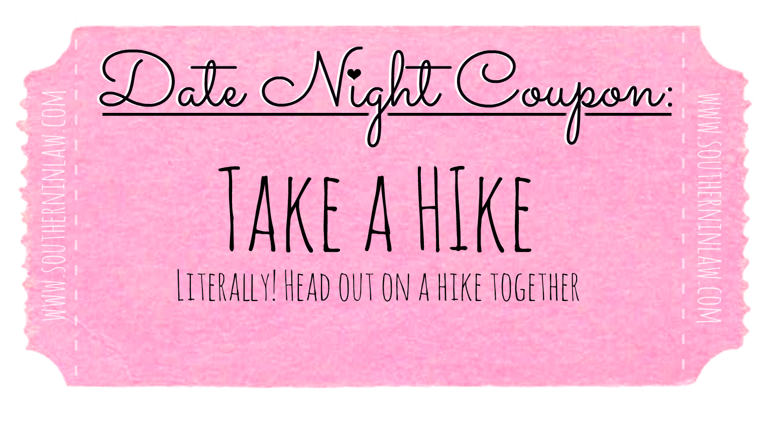 Affordable Date Ideas - Cheap Date Ideas Coupons - Go on a Hike