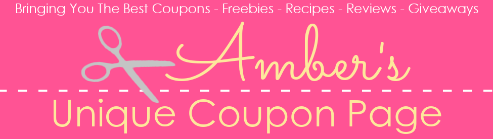 Amber's Unique Coupon Page
