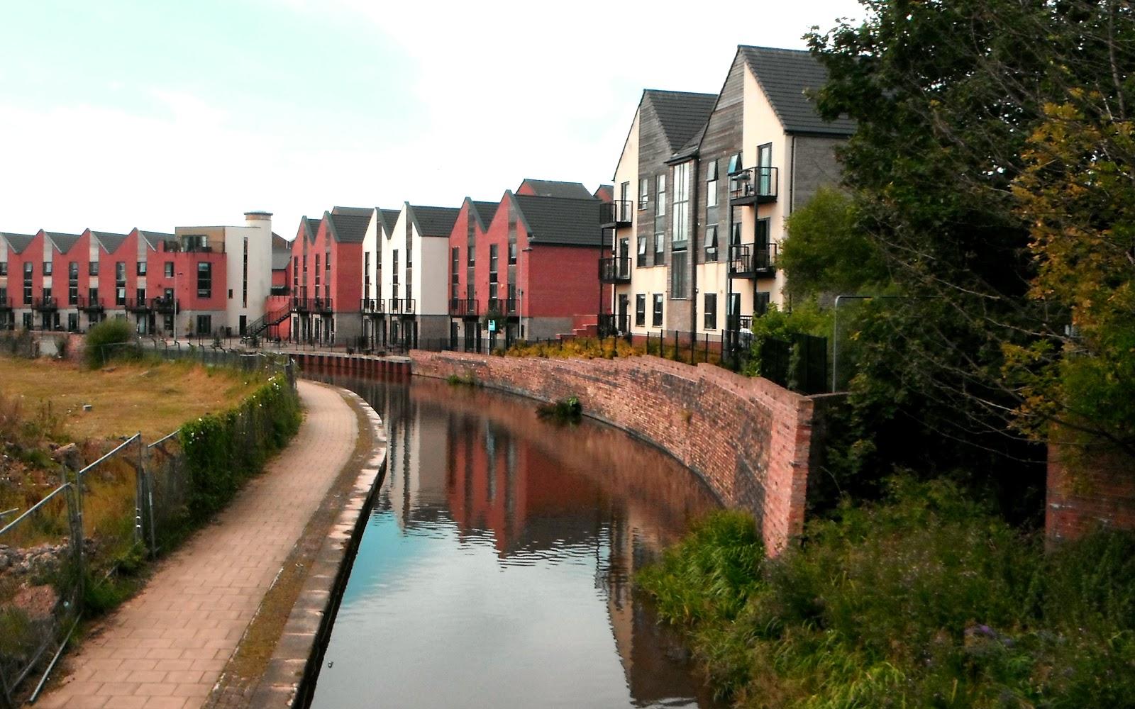 Waterside complex in Hanley's 'Canal Quarter'