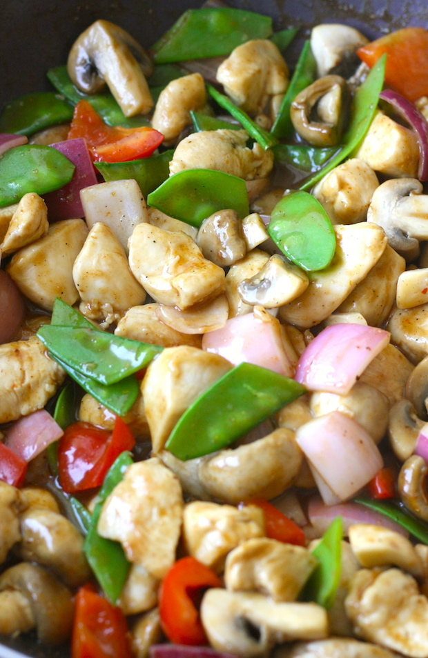 spicy cashew chicken recipe by SeasonWithSpice.com