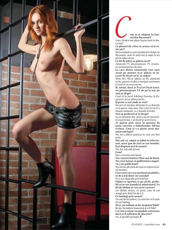 Fotos de Melinda Trifan nua na Playboy