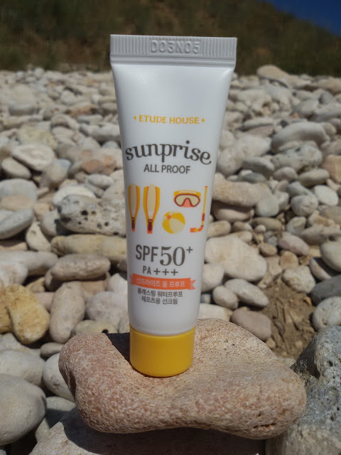 Санскрин Sunprise All Proof SPF 50 + PA +++  от Etude House: наша встреча была ошибкой