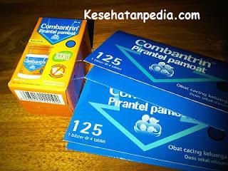 Dosis Pirantel Pamoat Sirup & Tablet untuk Anak & Dewasa