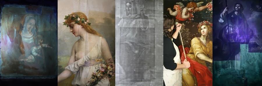 Restauration de tableaux et dorures à Nice