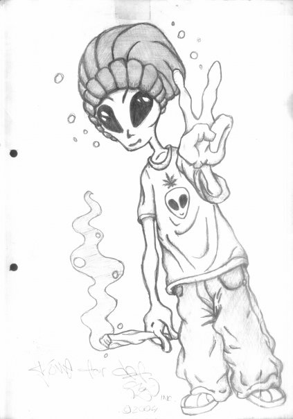 Outer Space Aliens likewise Free Clipart Rose Outline as well Maconha E Suas Artes additionally Smoke also Watch. on weed wallpaper