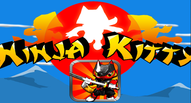 Ninja Kitty v1.03 Apk Mod [Unlimited Gold]