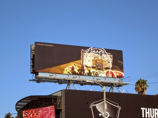 Herradura sip grade tequilas billboard