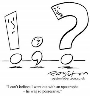 Punctuation Day, September 24, cartoon