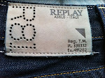 replay jeans size 36 L32