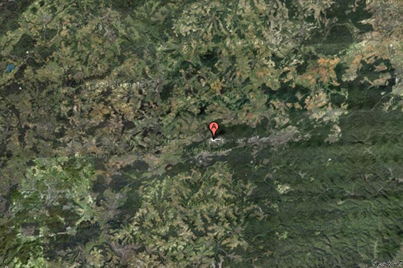 Places That Are Suspisciously Blurred Out On Google Maps - Google maps canada us border