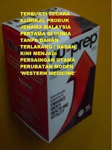 Memantapkan testosterone TANPA BAHAN TERLARANG / DADAH hanya Nu-Prep 100 US patent long jack