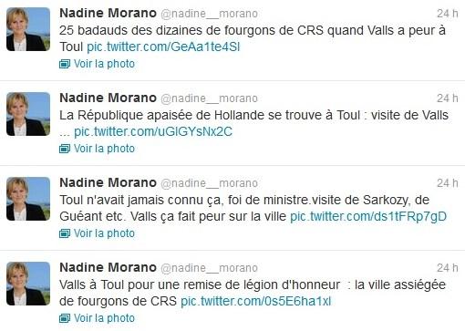 Nadine Morano Manuel Valls Toul