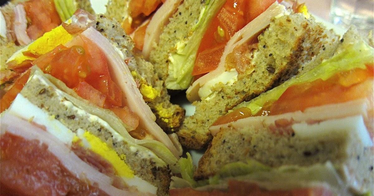 El laberinto de andrea club sandwich - Recetas merienda cena informal ...