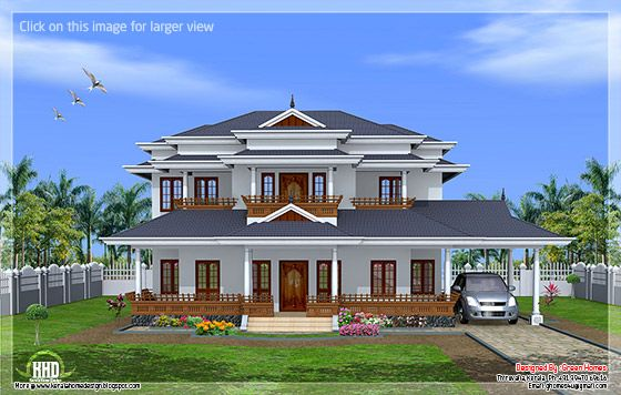 Luxury Kerala home
