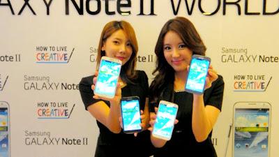 Samsung Galaxy Note II ya esta a la Venta