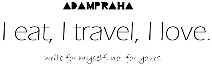 I eat, I travel, I love