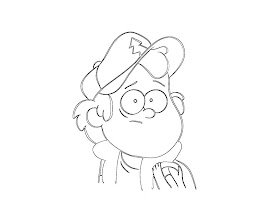 Gravity Falls Coloring Pages Free