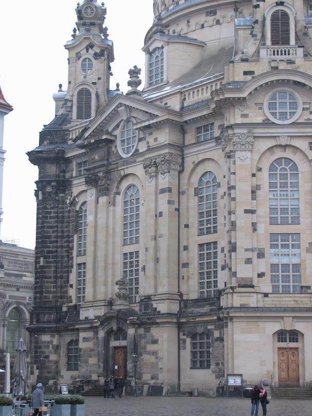 Дрезден, Эльба, путешествия, Дрезденская церковь Фрауэнкирхе