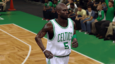 NBA 2K13 Kevin Garnett Cyberface Patch